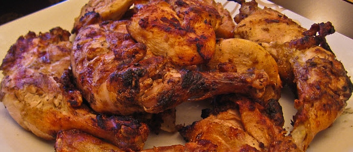 Charcoal bbq chicken recipe