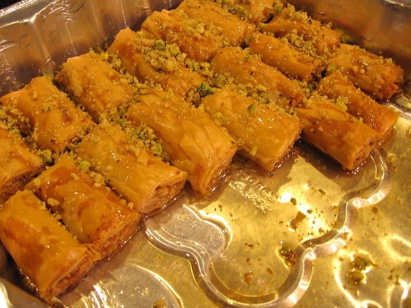 Lebanese #sweets #dessert #baklava #knafeh | Behind the Great Cedar