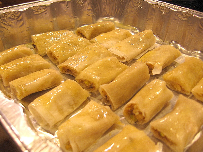 Easy to Make Lebanese Baklava Rolls Recipe
