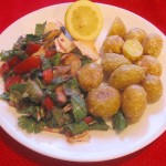 Gourmet Tangy Garlic Potatoes Recipe