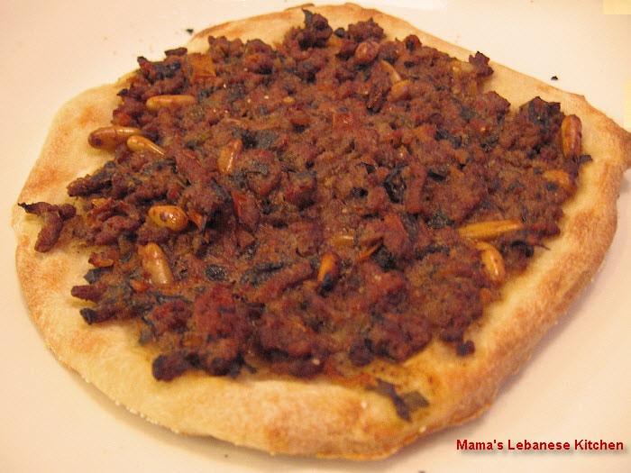Lebanese Meat Pies Recipe - Lahm bi Ajeen - Lahmajun