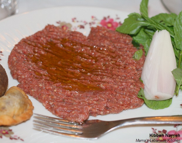 Lebanese Kibbeh Nayyeh Recipe - Raw Kibbe Recipe