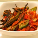 Vegetarian Stew of Okra – Bemieh Recipe