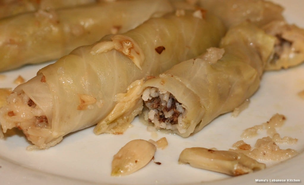 Stuffed Cabbage Rolls With Meat and Rice – Malfouf Recipe
