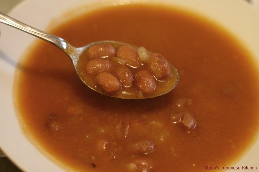 Lebanese Fasolia w zait Stew