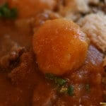 Lebanese Potato and Beef Stew With a Side of Rice