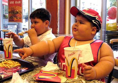 fat mcdonalds kid