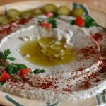 Baba Ghanouj – Roasted Eggplants With Garlic and Tahini