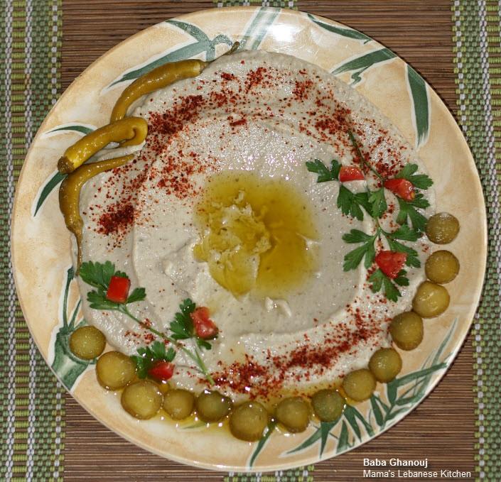 Lebanese Baba Ghanouj