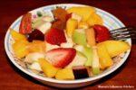 Simple Fruit Salad Recipe: Lebanese Style