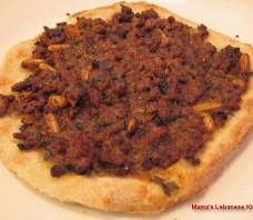 Lebanese Meat Pie Recipe  – Sfeeha – Lahm bi Ajeen