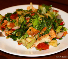 Fattoush Salad Recipe – Lebanese Peasant Salad