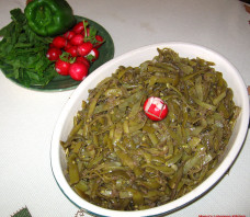 Green Beans and Olive Oil Saute – Loubieh Bi Zait