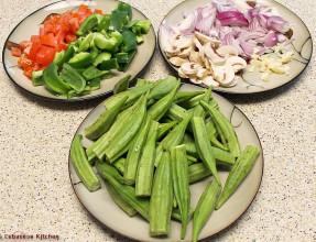 Okra Ingredients