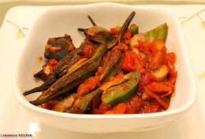 Vegetarian Stew of Okra – Bemieh Recipe