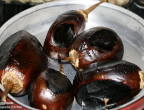 Fire Roasted Eggplants
