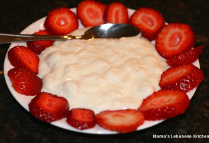 Original Lebanese Ashta Recipe – Clotted Cream With Rose Water