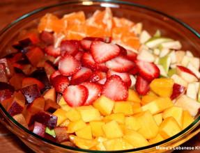 Freshly Cut Fruits
