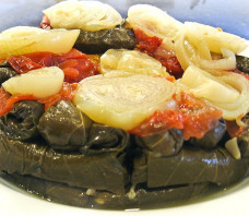 Vegetarian Stuffed Grape Leaves Recipe – Mahshi Warak Enab