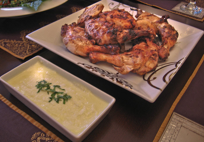Lebanese grilled chicken recipe djej mishwe mamas lebanese lebanese grilled chicken forumfinder Image collections