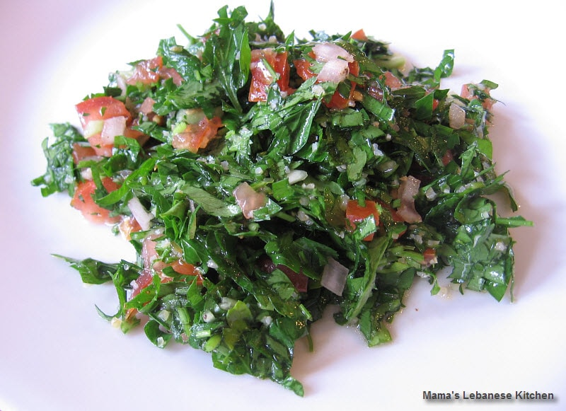 Authentic lebanese tabbouleh salad recipe mamas lebanese kitchen authentic lebanese tabbouleh salad recipe forumfinder Choice Image