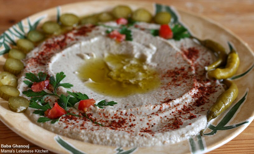 baba ghanouj recipe - Lebanese Kitchen