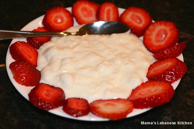 Original lebanese ashta recipe clotted cream with rose water lebanese ashta recipe forumfinder Image collections